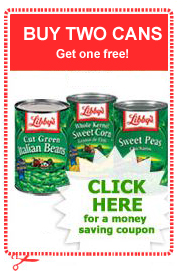 B2G1 FREE Libby's Canned Vegetables Coupon