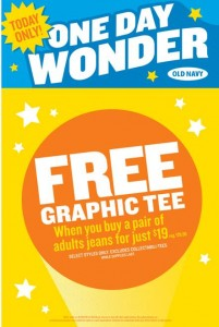 Old Navy FREE Graphic Tee
