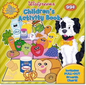 Walgreens Children's Activity Book Coupons