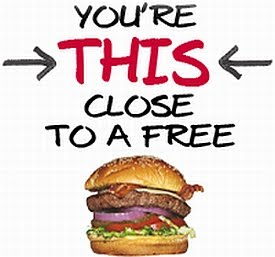 T.G.I. Friday's FREE Burger
