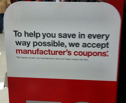 Target Stack Manufacturer's and Store Coupons