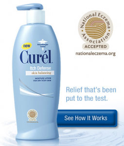 Free Sample of Curel Itch Relief Lotion