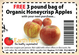 FREE Organic Honeycrisp Apples