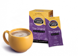 Oregon Chai Tea Latte Sample