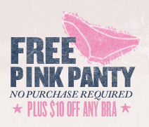 Victoria's Secret Free Panty Coupon