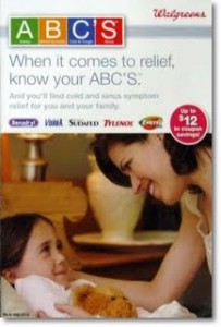 Walgreens ABC's Coupon Booklet