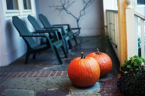 seasonal decorations pumpkins frugal uses