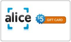 Alice.com eGift Cards