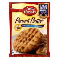 Betty Crocker Cookie Mix Recipe Booklet