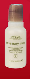 FREE Aveda Rosemary Mint Hand and Body Wash