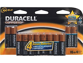 FREE Duracell Batteries