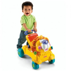 Fisher Price Stride to Ride Lion Walking Toy