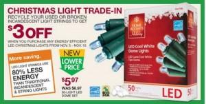 LED Christmas Light Savings