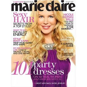 Marie Claire Magazine $5 Subscription