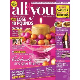 All You Magazine Subscription $8.98