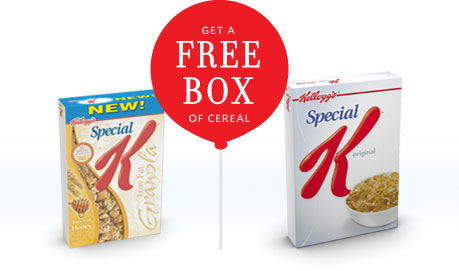B1G1 Special K Coupon