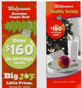 December Walgreens Coupon Booklets