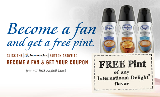 Free International Delight Coupon