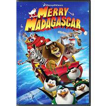 Merry Madagascar DVD $1.50