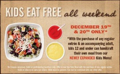 Qdoba Kids Eat Free