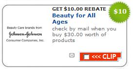 photo relating to Printable Rebate called $10/$30 Johnson Johnson Rebate + Fresh new Printable Coupon codes