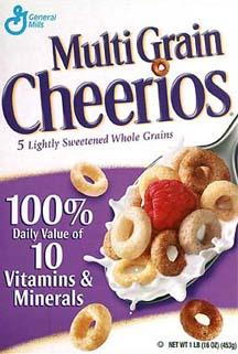 Get Five  1 off MultiGrain $1 Off Multi Grain Cheerios