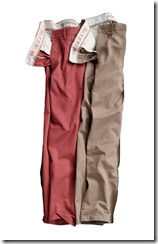 Dockers Khaki and Red Pants