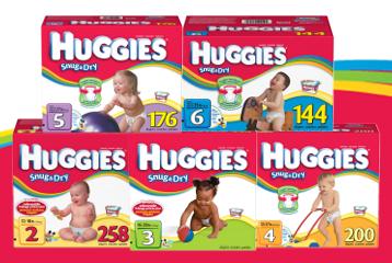 Huggies Snug & Dry Diapers FREE Sample