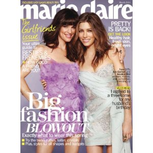 Marie Claire Magazine Subscription $5
