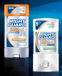 CVS: FREE Right Guard Total Defense 5